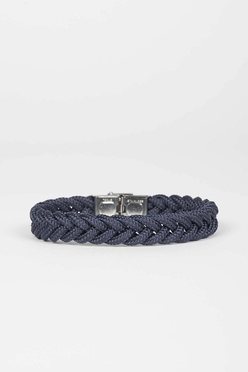 Braided Blue Bracelet Eduardo Rivera