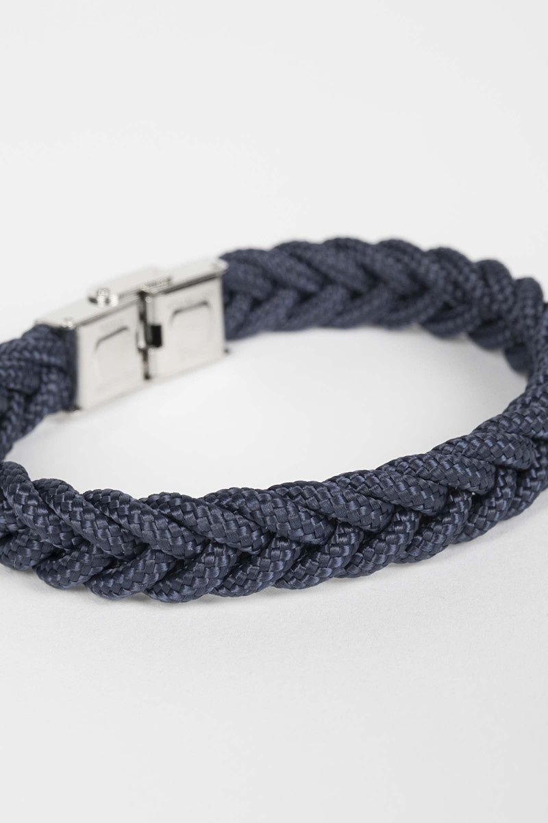 Braided Blue Bracelet