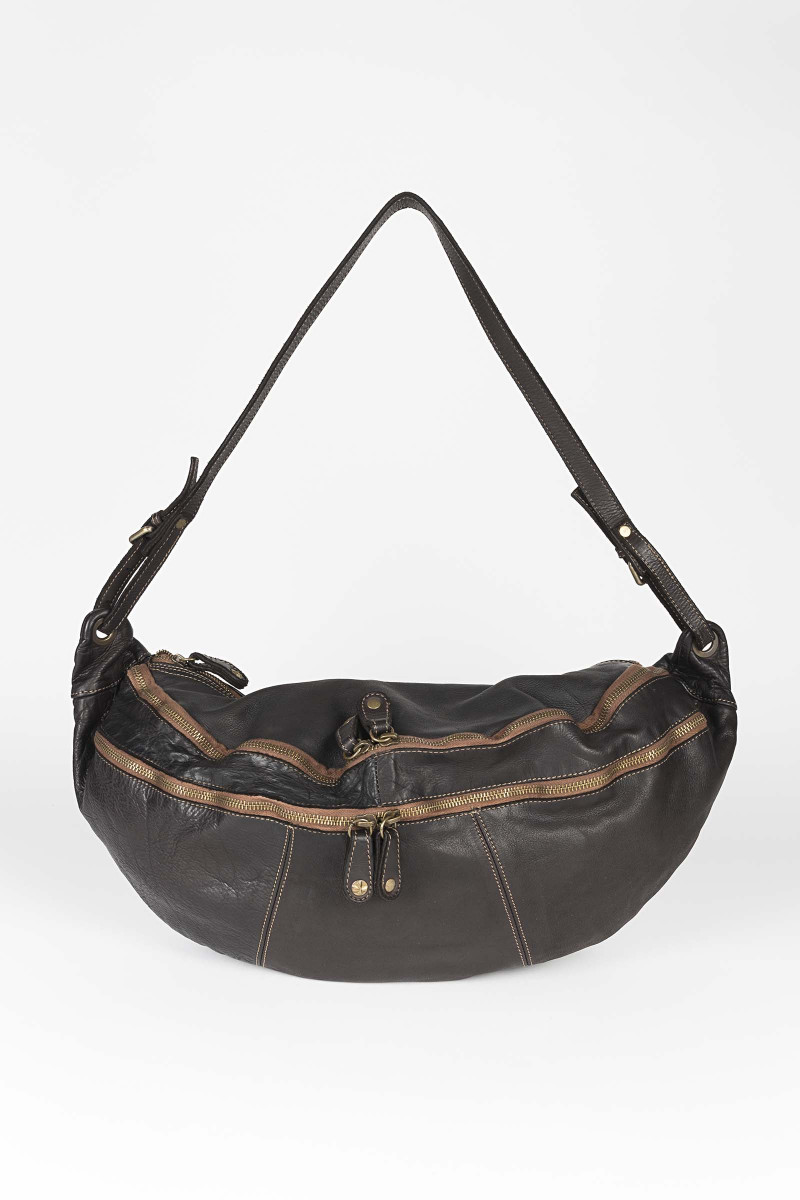 Brown Leather Fanny Pack Eduardo Rivera