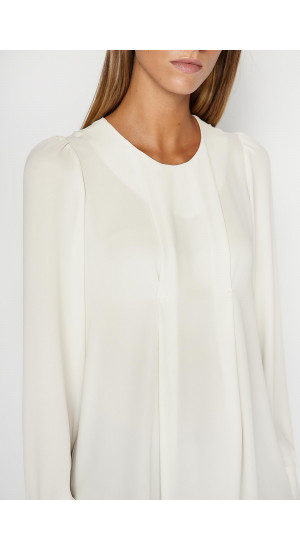 White Daimiel Blouse Elisa Rivera