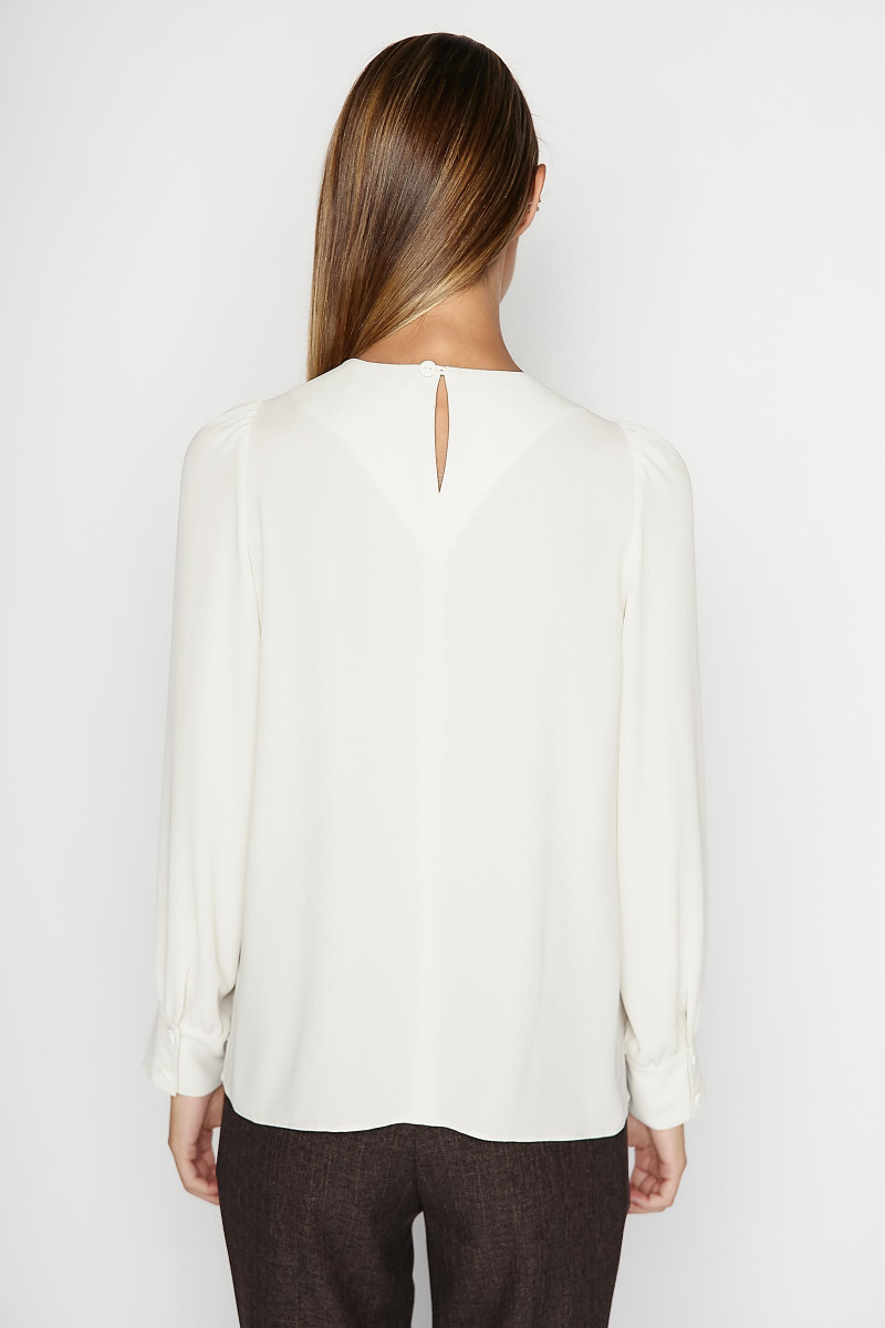 White Daimiel Blouse