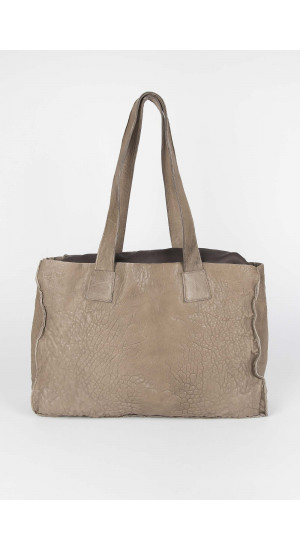 Beige Carol Shopper Bag Elisa Rivera