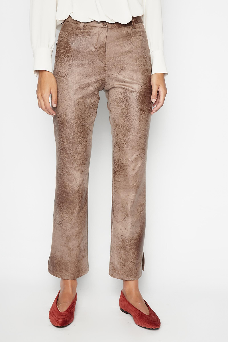 Brown Nogal Pants