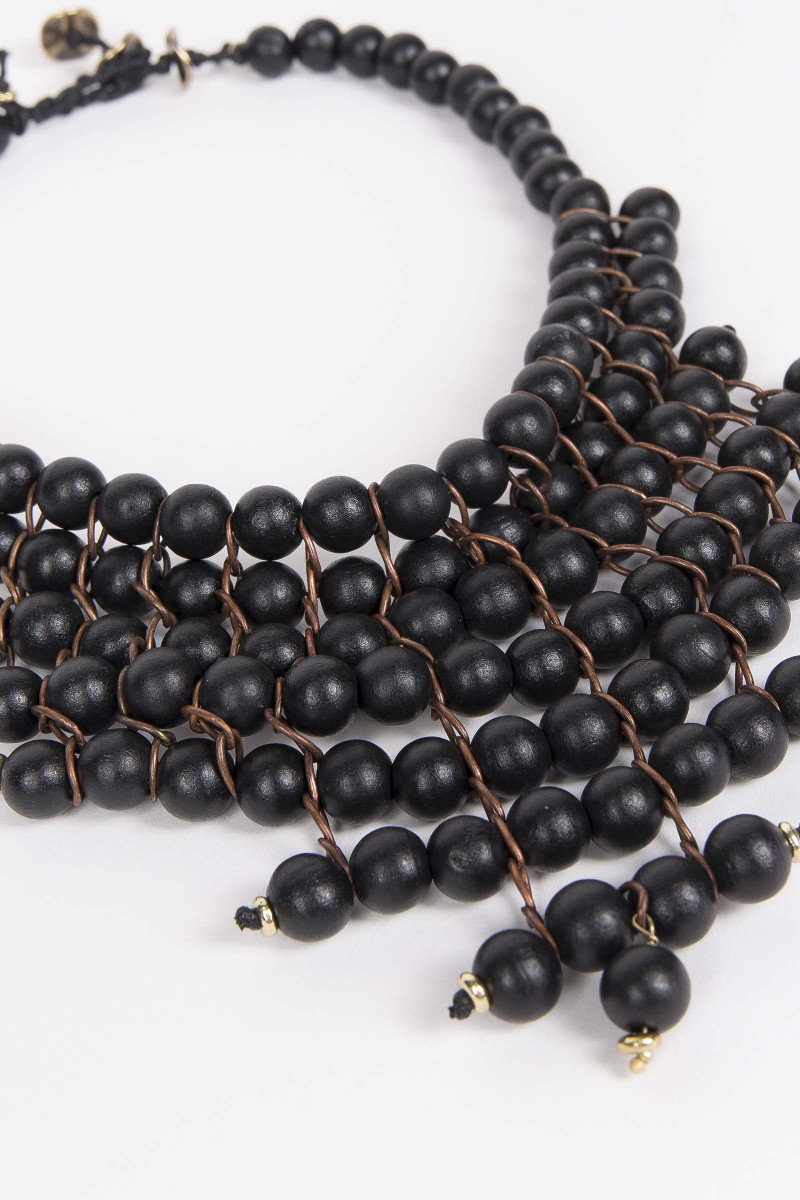 Black Benares Necklace