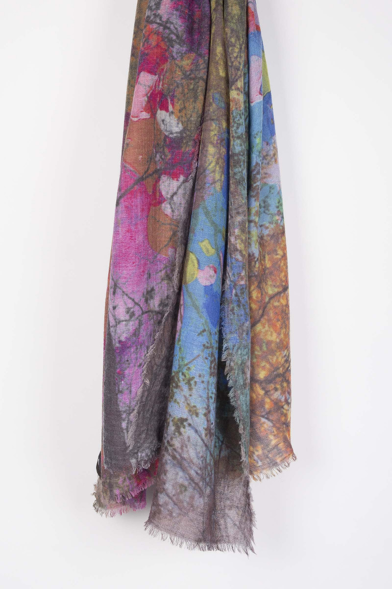 Tree Scarf Elisa Rivera