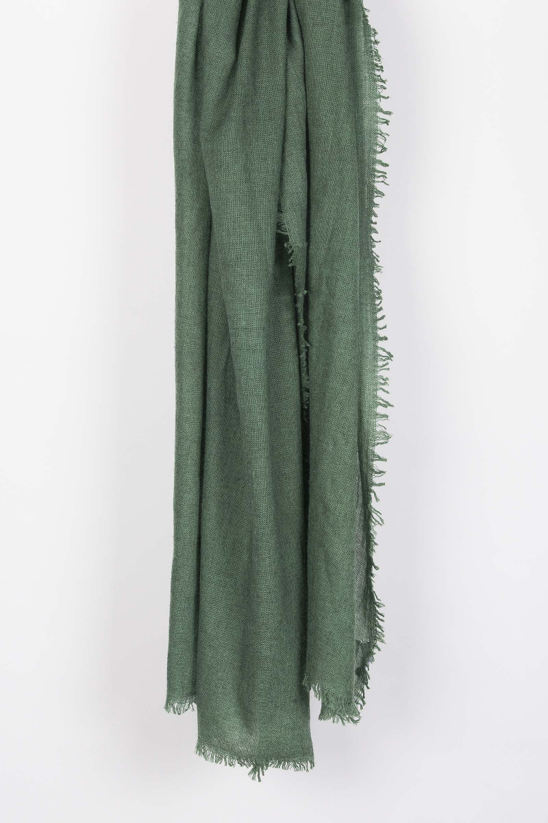Forest Green Scarf Elisa Rivera