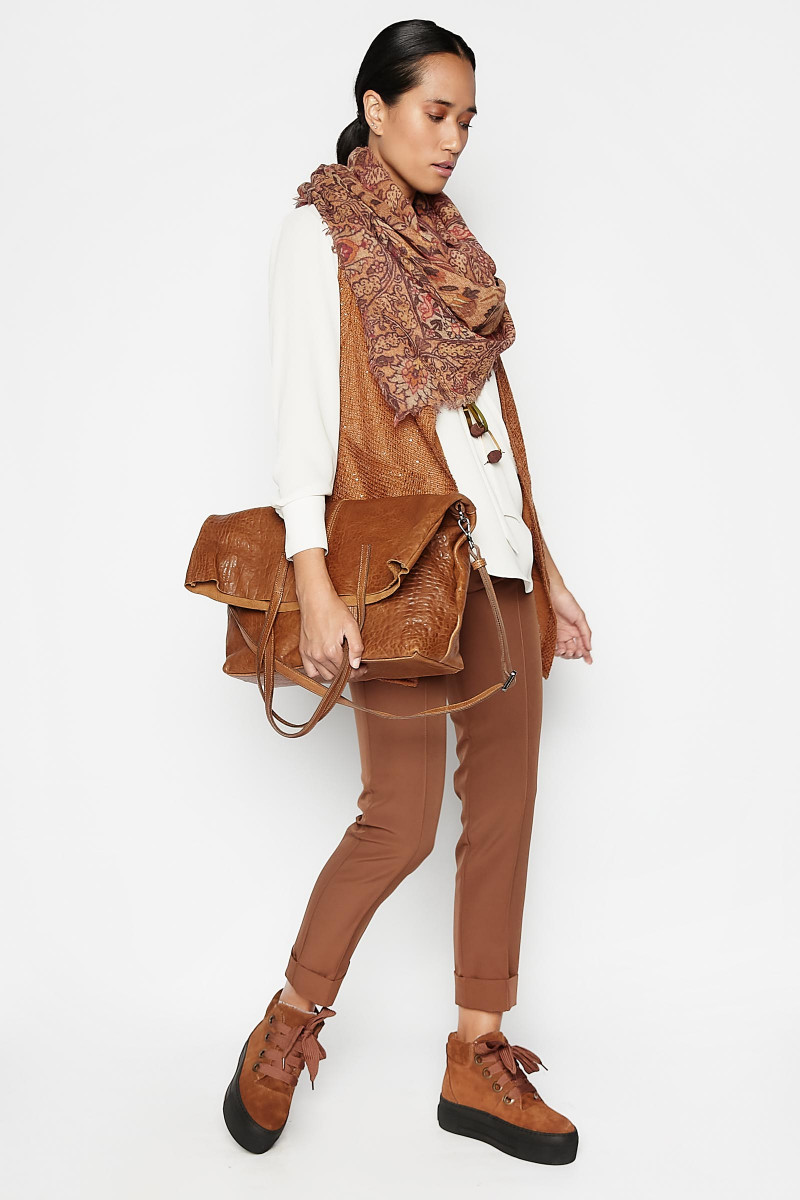 Brown Vela Pants Elisa Rivera