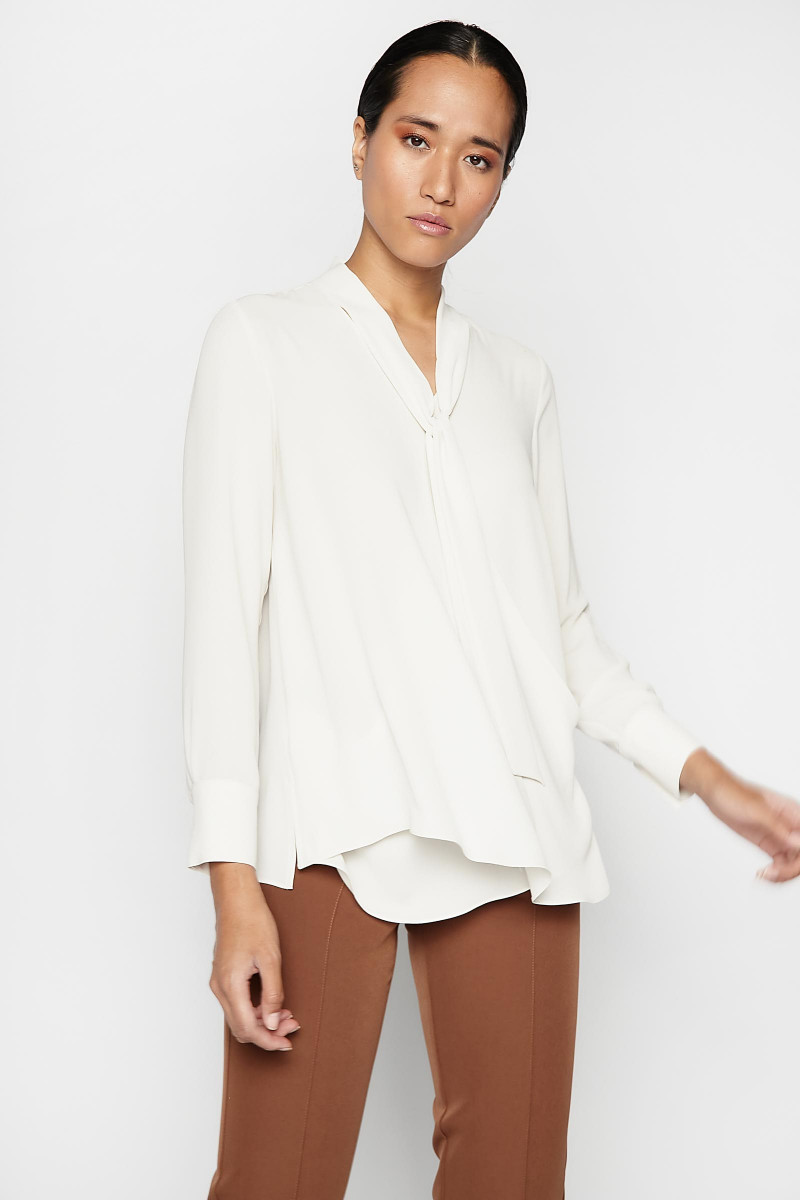 Blusa Riaza Natural Elisa Rivera