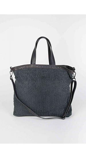 Dark Grey Valencia Bag Elisa Rivera