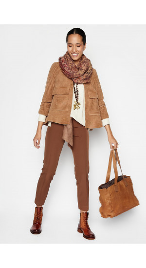 Brown Mojave Jacket Elisa Rivera