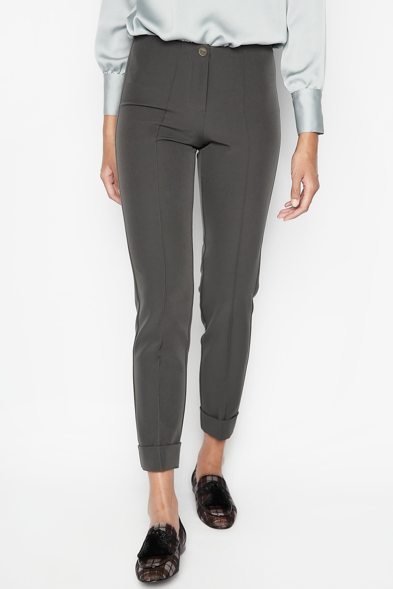 Gray Vela Pants Elisa Rivera
