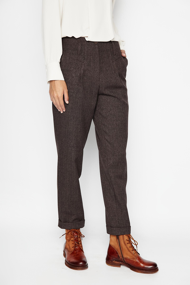 Brown Madroño Pants