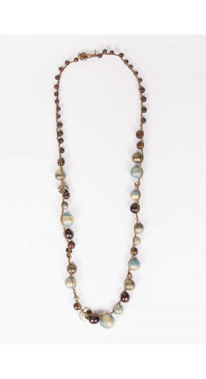 Blue Chennai Necklace