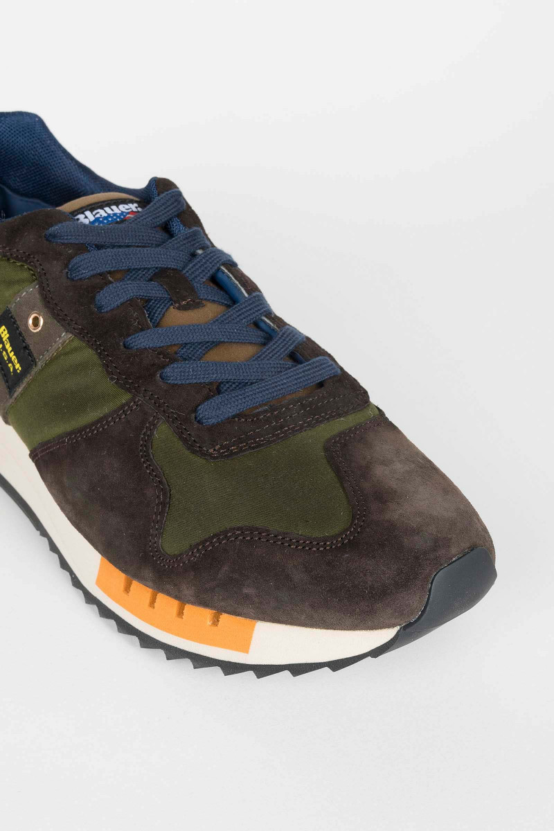 Blauer Queens Militar Sneakers