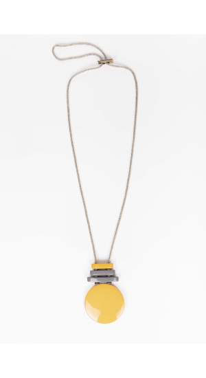 Mustard Agra Necklace