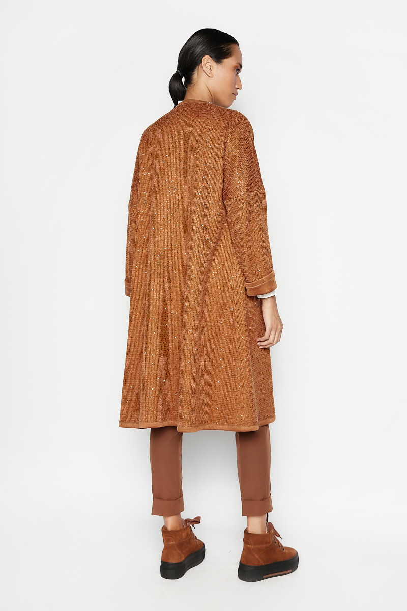 Brown Darwin Reversible Coat