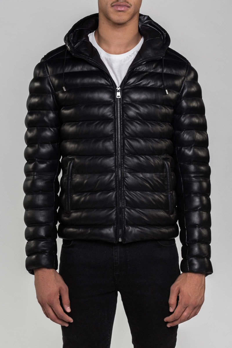Black Warmer Jacket Eduardo Rivera