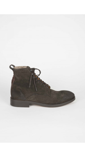 Yew Suede Brown Boots Eduardo Rivera