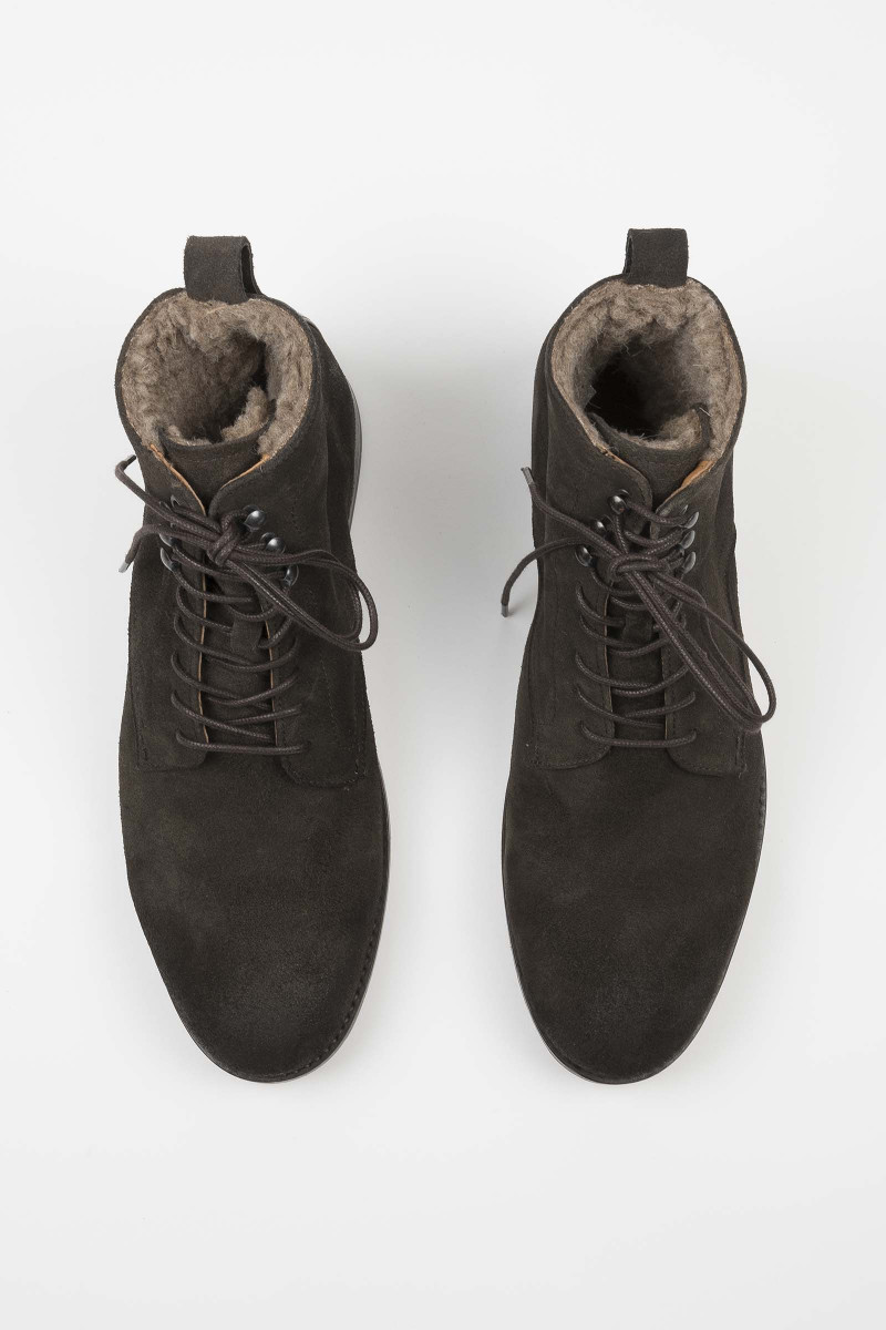 Yew Suede Brown Boots