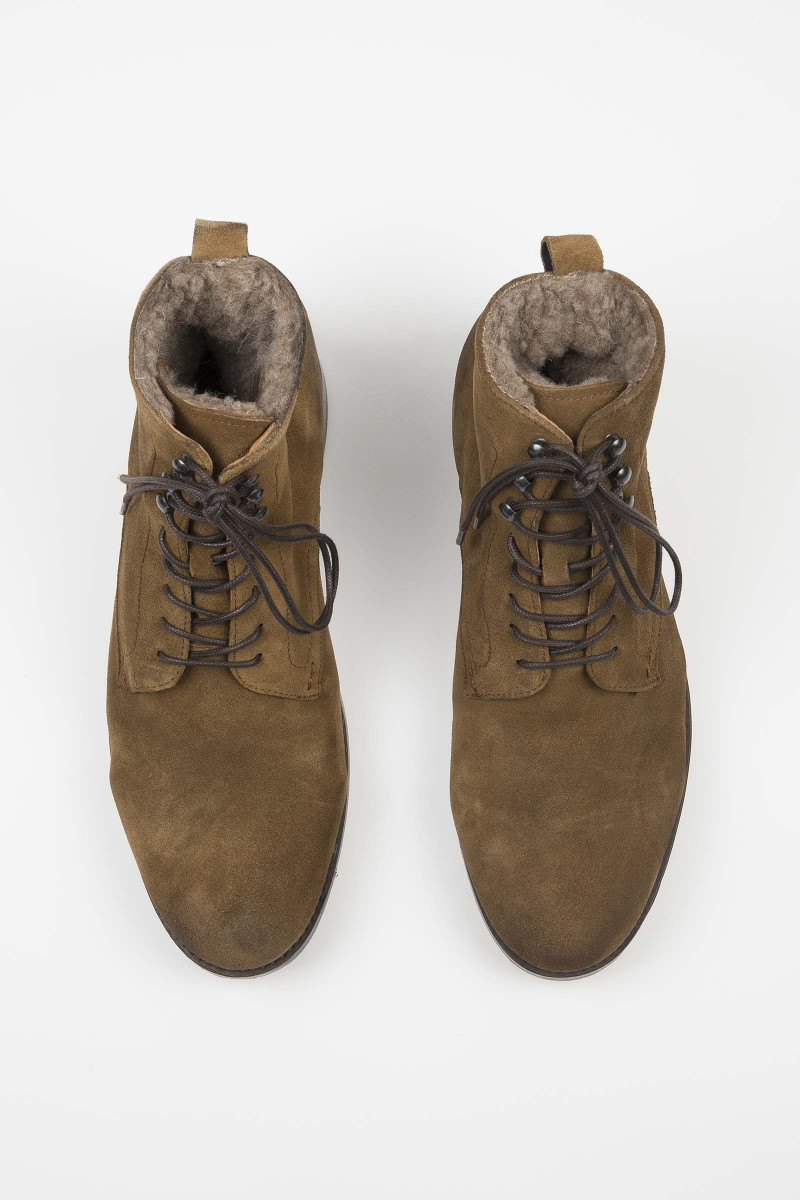 Yew Suede Caramel Boots