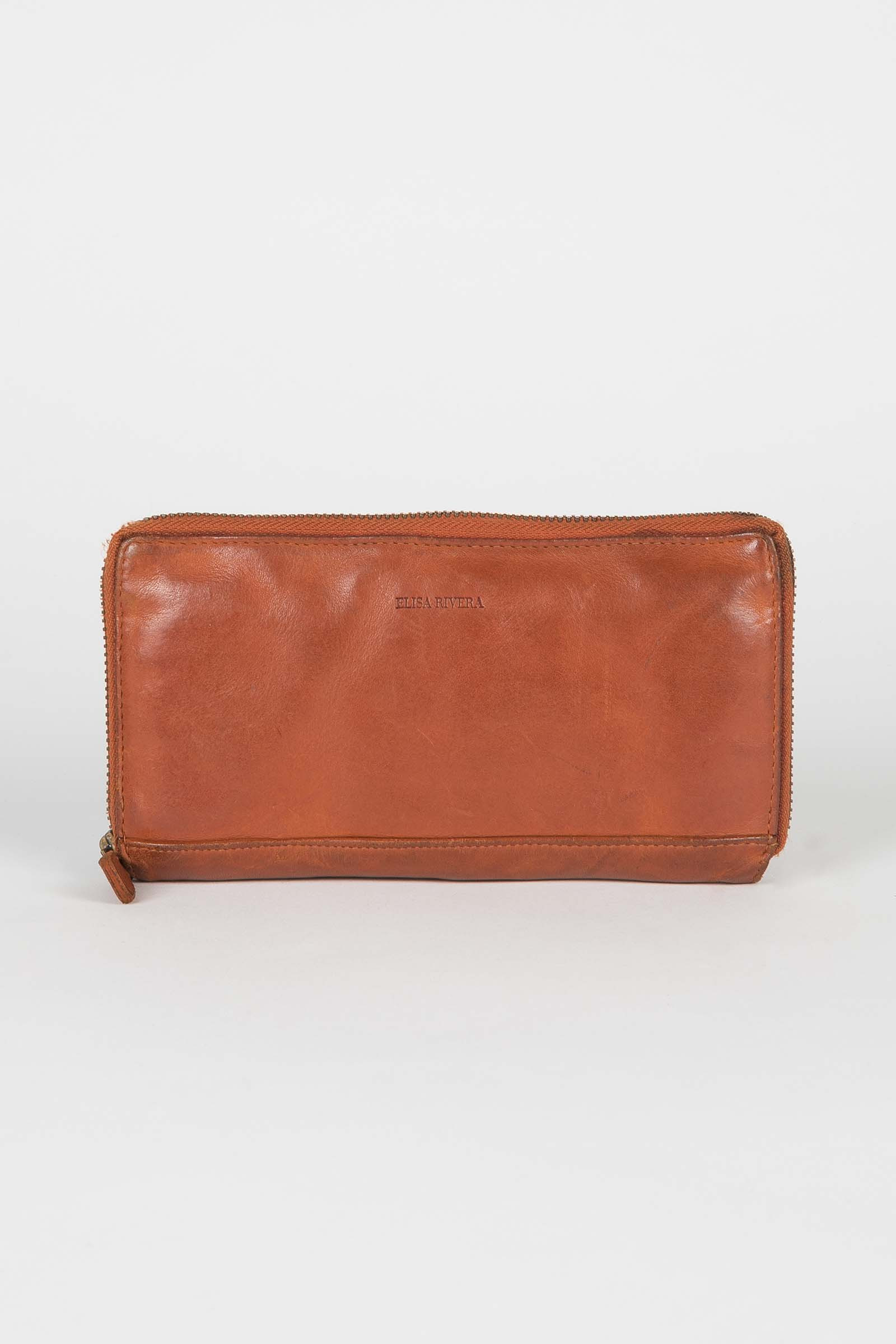 Orange Wallet Elisa Rivera