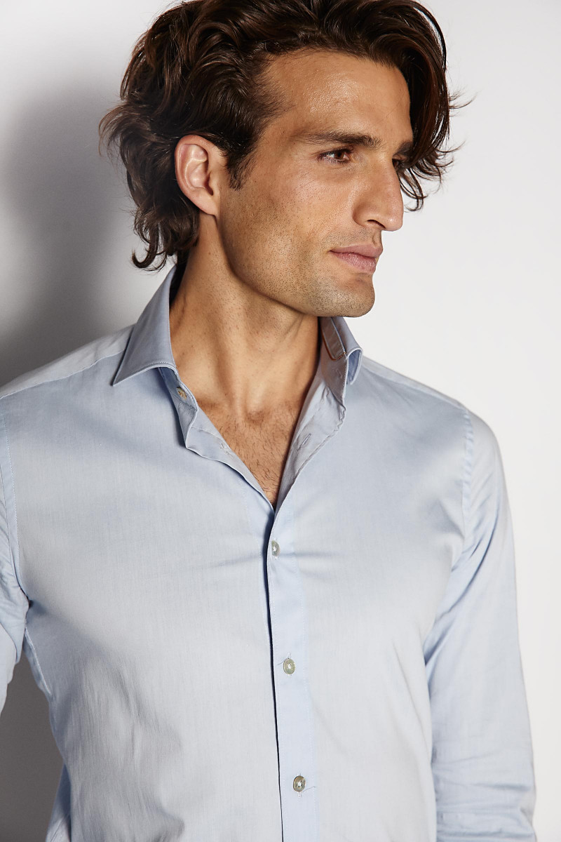 Camisa Azul Alley Docks