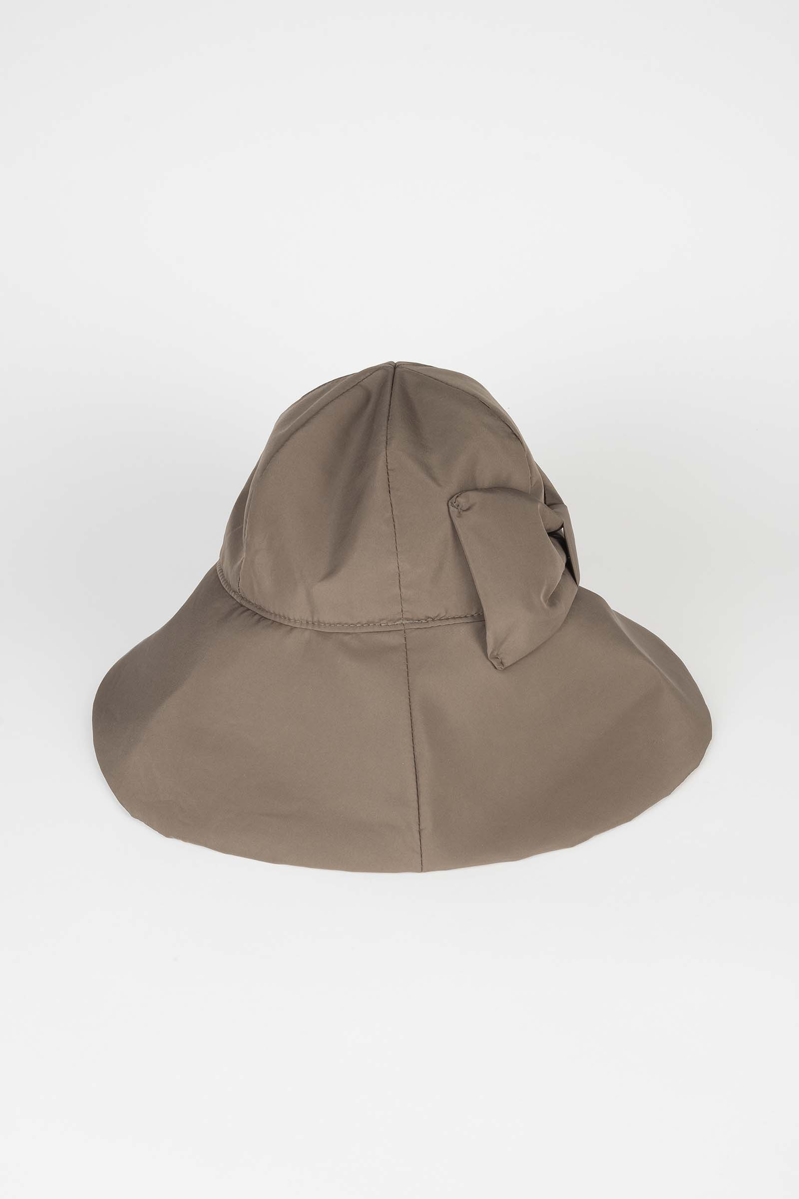 Taupe Bucket Hat Elisa Rivera