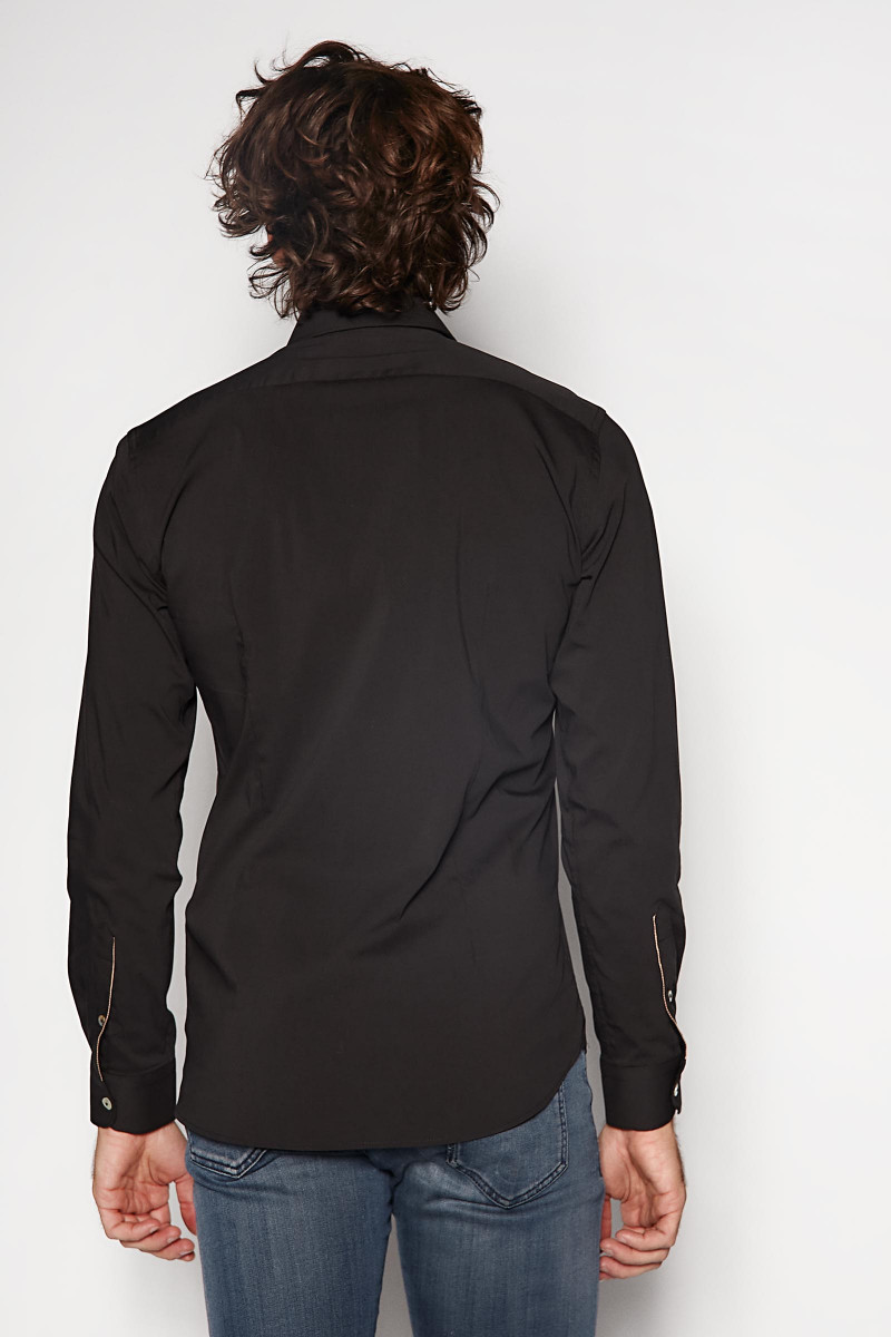 Camisa Alley Docks Negra