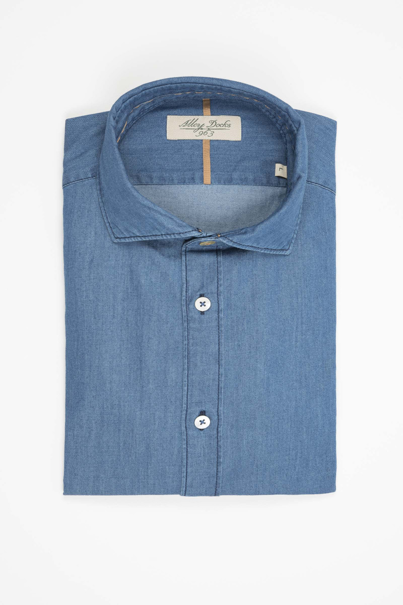 Camisa Alley Docks Denim Elisa Rivera
