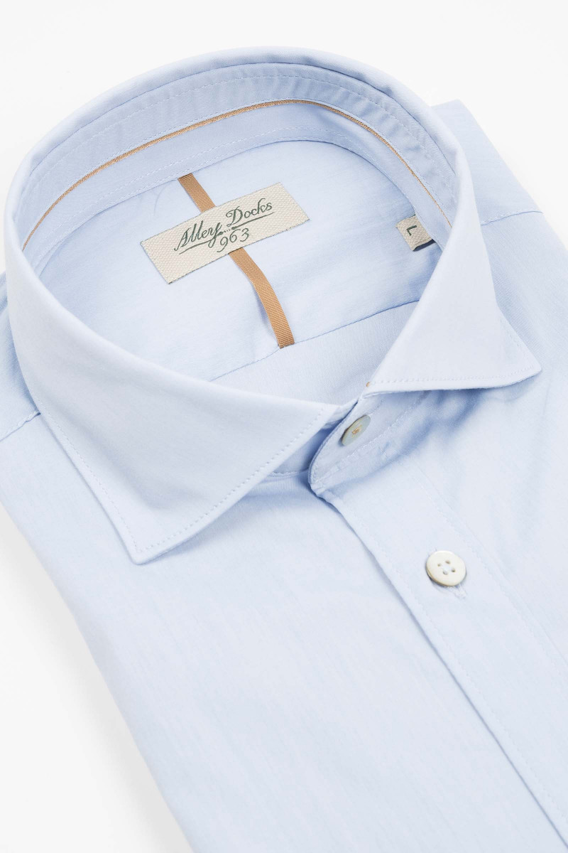 Camisa Azul Claro Alley Docks
