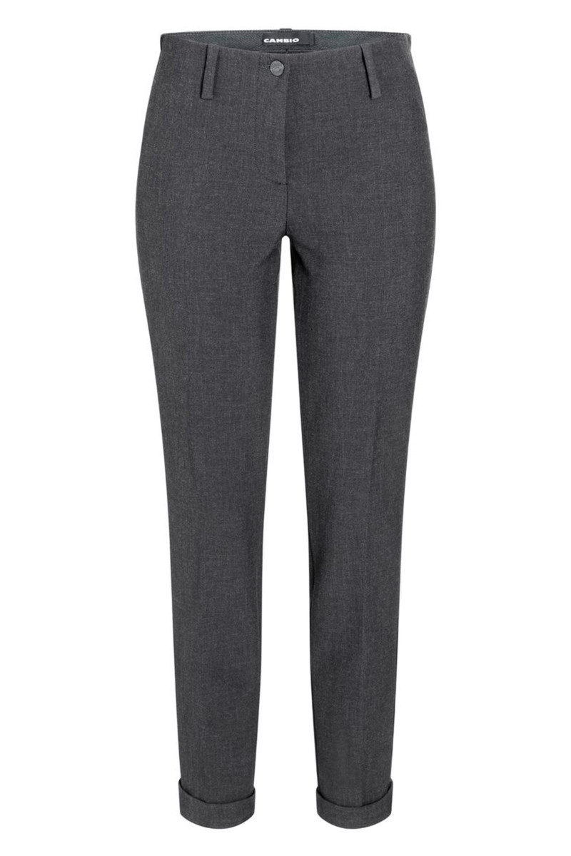 Dark Grey Cambio Pants Elisa Rivera