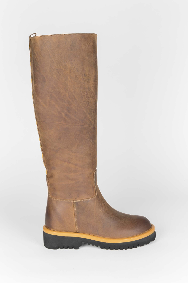 Brown Boots Fisher Style Elisa Rivera
