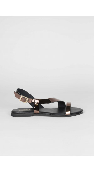 Cross Strap Sandals Elisa Rivera