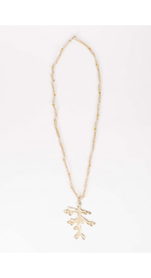 Golden Branch Necklace Elisa Rivera