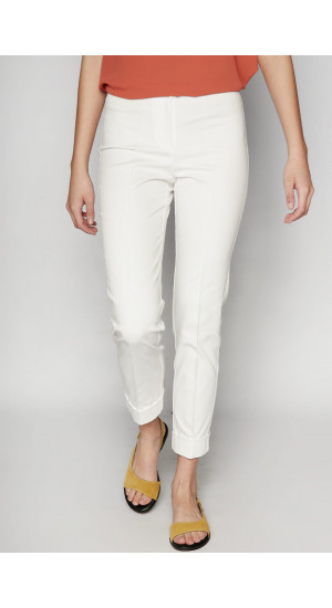 White Vela II Pants Elisa Rivera