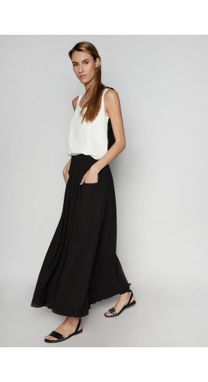 Black Niza Skirt Elisa Rivera