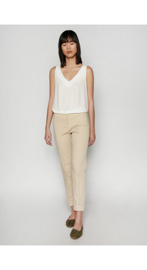 Cream Vela II Pants  Elisa Rivera