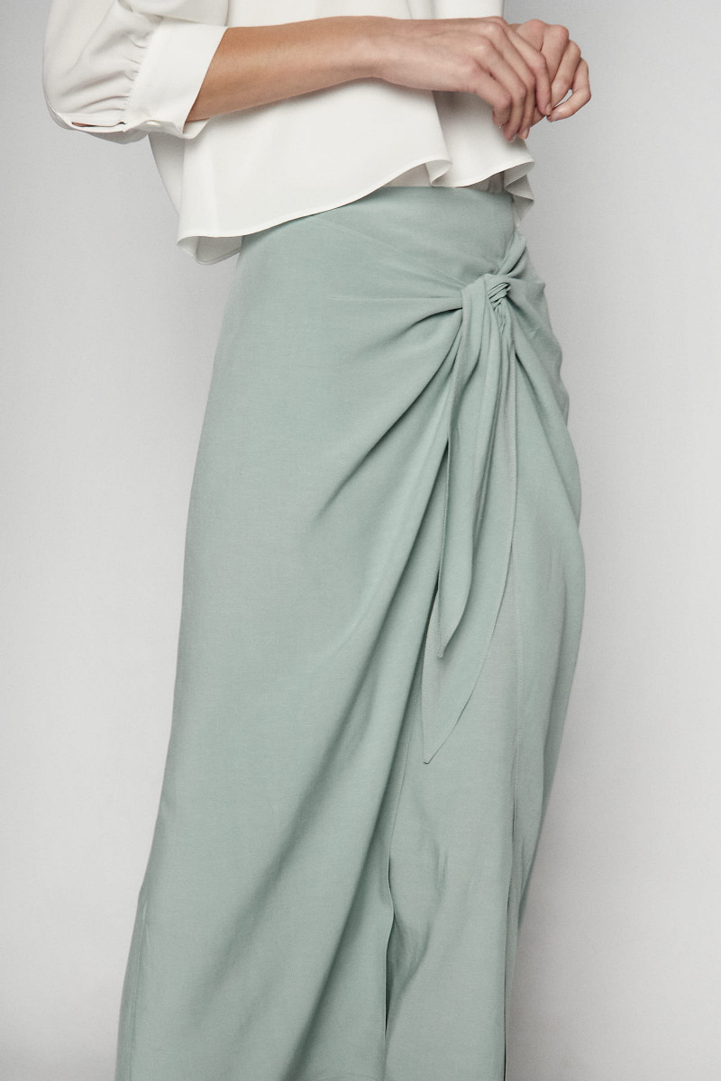 Aqua Green Mónaco Skirt