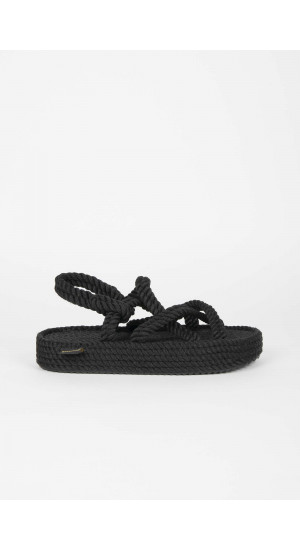Black Bodrum Sandals Elisa Rivera