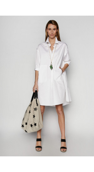 White Shirt Dress Elisa Rivera