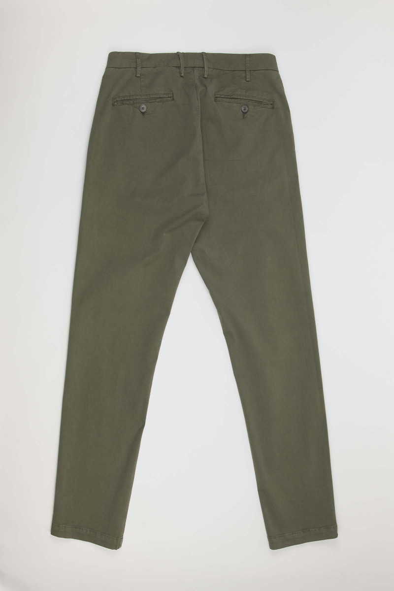 Green Casual Alley Docks Pants