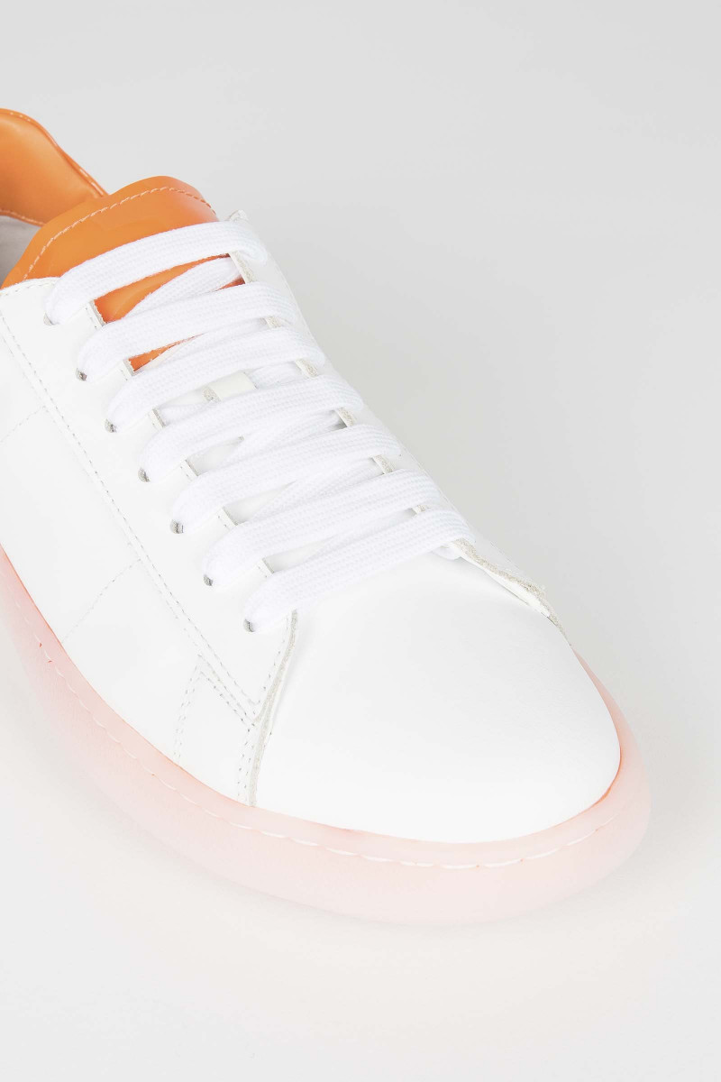 Orange Rov Sneakers Elisa Rivera