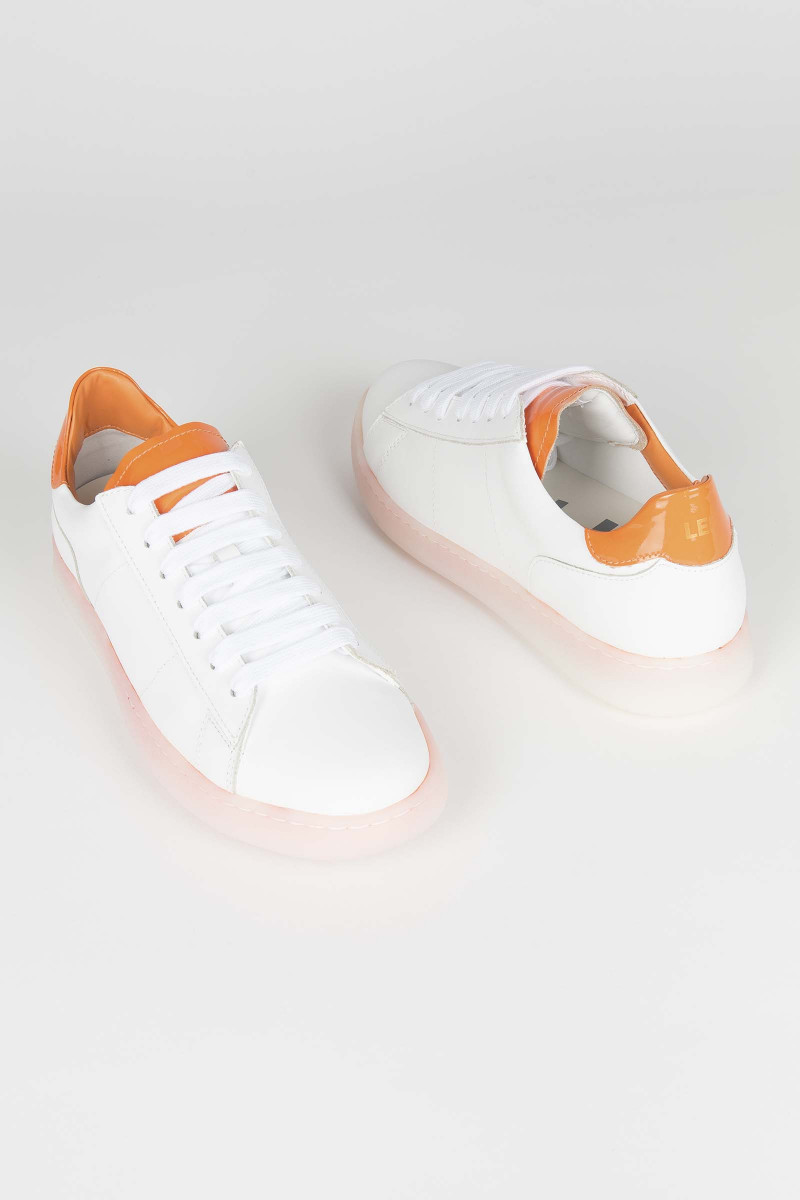 Orange Rov Sneakers