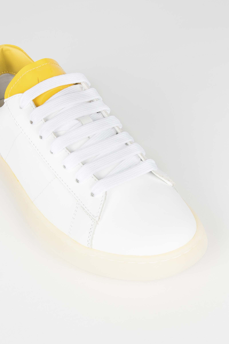 Yellow Rov Sneakers