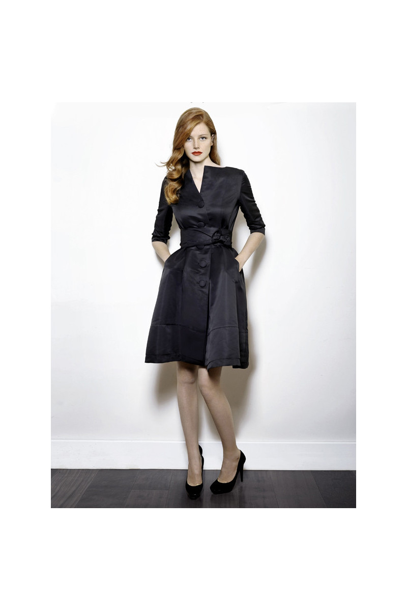 Trench coat / Dress G9 Black