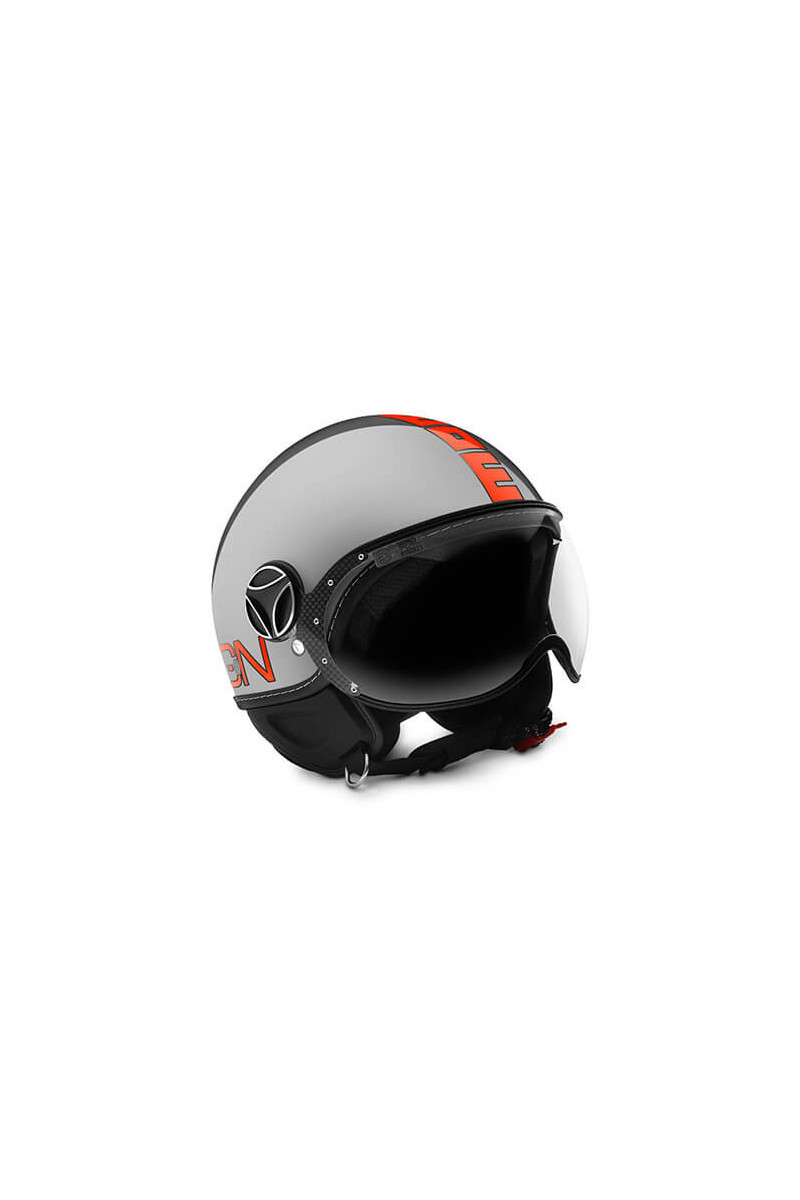 Casco Fighter Evo Metal/Orange