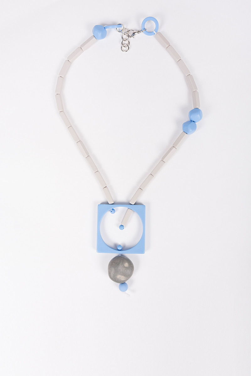 Bicolor Beads Necklace