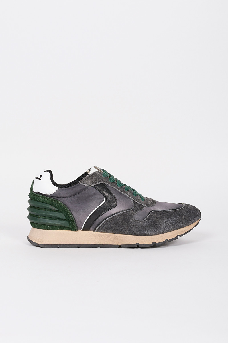 Zapatillas Liam Power Gris-Verde