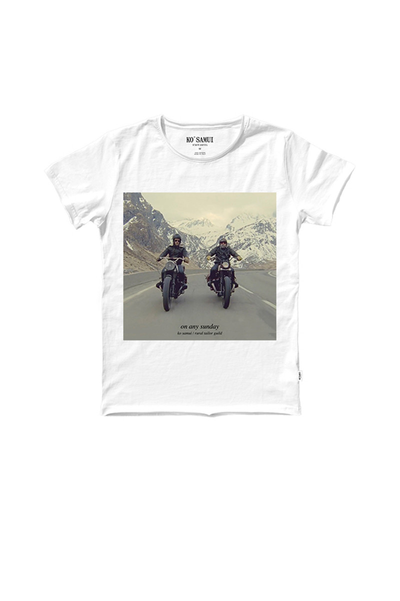 Camiseta motoristas long way ko samui tiendas madrid