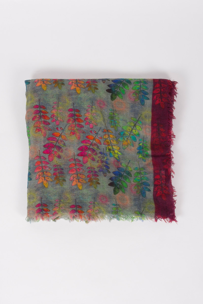 Colors Leaves Scarf